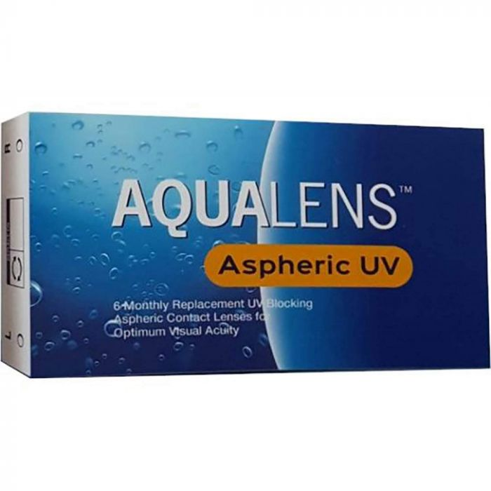 AQUALENS ASPHERIC UV ΜΥΩΠΙΑΣ-ΥΠΕΡΜΕΤΡΩΠΙΑΣ ΜΗΝΙΑΙΟΙ 6 PACK