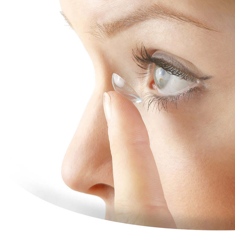 contact lens slider
